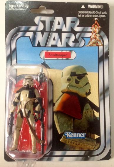 Figura O Muñeco Star Wars Vintage Collection Sandtrooper