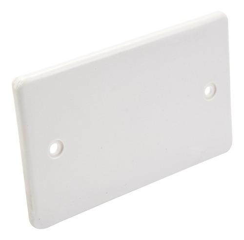 Imagen 1 de 1 de Tapa Rectangular 2x4 Plastica Blanca Ciles