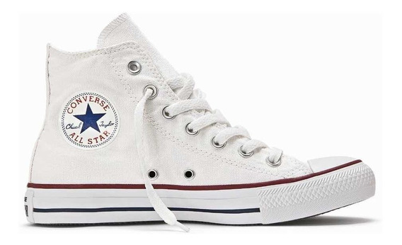 Botitas Converse All Star Color Blancas 100% Originales!!!