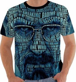 Camiseta Ou Baby Look Breaking Bad Heisenberg Walt White 4