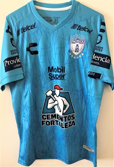 Camisa Pachuca 2019/20 Uniforme 2 Cardona #10 Completa