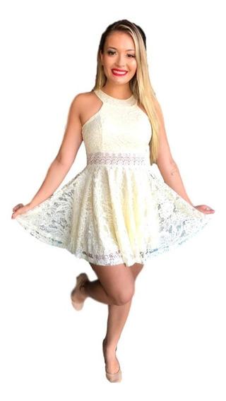 Vestido Feminino Em Renda De Festa,formatura,casamento Ref58