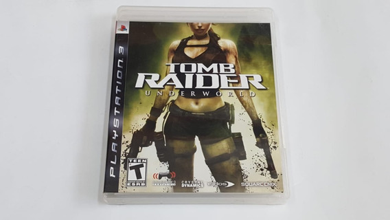 Jogo Tomb Raider Underworld - Ps3 - Original Fisica
