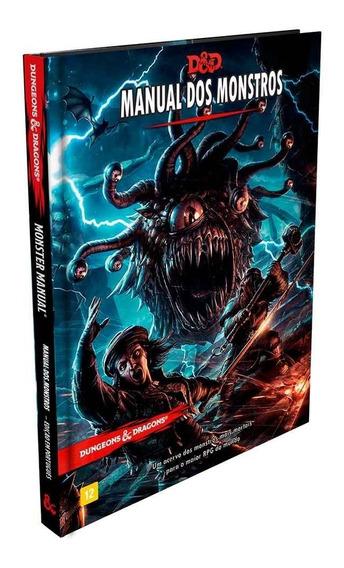 Dungeons Dragons Manual Dos Monstros Portugues Livro Basico