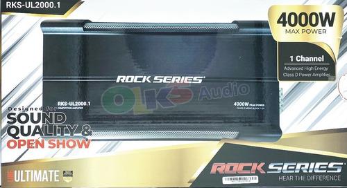 Imagen 1 de 10 de Ampli Clase D Open Show Spl 4000w. Rock Series Rks-ul2000.1