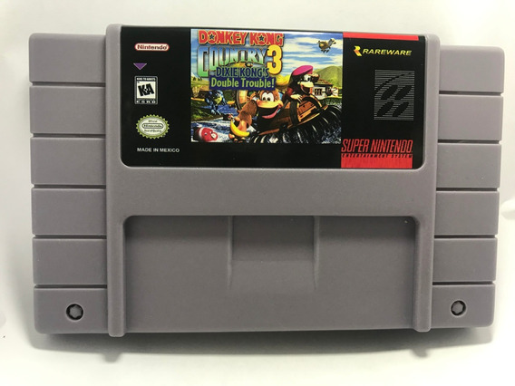 Donkey Kong Country 3 Super Nintendo