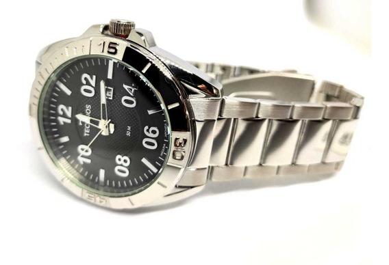Relógio Em Aço Inoxidável Technos Masculino 2117lbm/1p Nfe