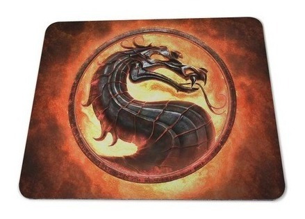 Mortal Kombat - Mouse Pad Logotipo 18x22