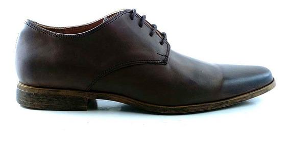 Zapato Vestir Hombre Cuero Briganti Zapatos Negro Hcac00962