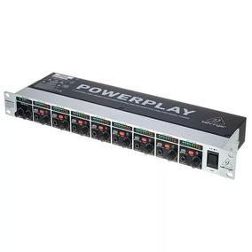 Power Play Behringer Ha8000- Amplificador C/nota Fiscal