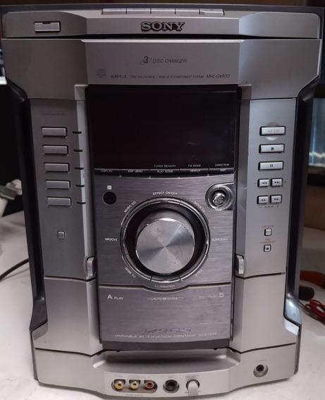 Micro System Sony Hcd-gn900 ( Placa Do Botão De Volume ) )
