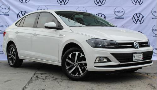 Imagen 1 de 10 de Volkswagen Virtus 2022 Comfortline Blanco