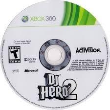 Juego Xbox 360 Dj Hero 2 Usado
