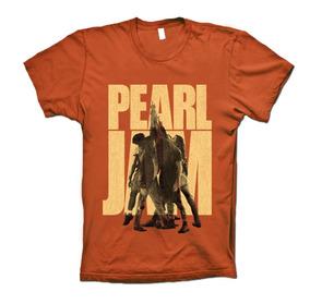 Pearl Jam Playeras Ten Anniversary Edition Skiddaw T-shirts