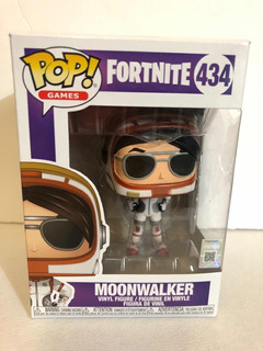 Funko Pop De Fortnite Moonwalker 100% Nuevo