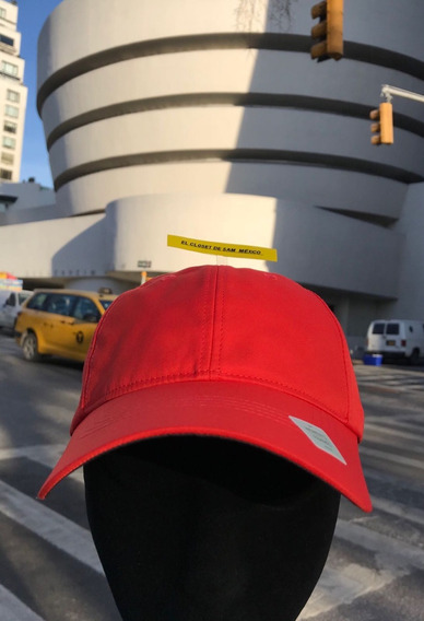 Gorra Nike Dama Golf Dri Fit Orange 742715 Logo Negro