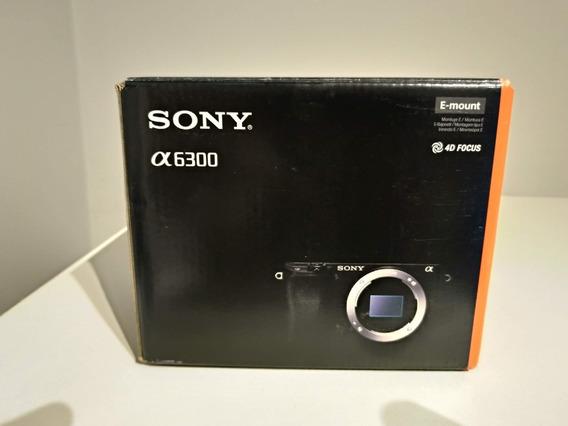 Camera Sony A6300 (comprada Na Sony Brasil) Novinha