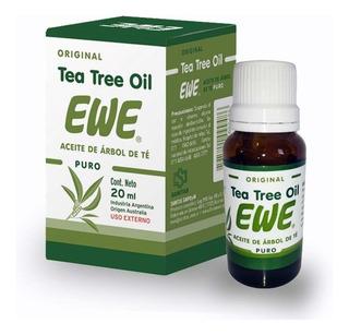 Aceite Esencial Tea Tree Oil Ewe Árbol De Té Puro 20ml