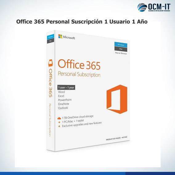 Licencia Office 365 Personal Suscripción