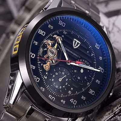 Relógio Skeleton Tevise Mecânico Automático Esporte Fashion