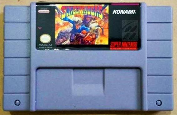 Jogo Sunset Riders Super Nintendo Snes Fita Frete Grátis