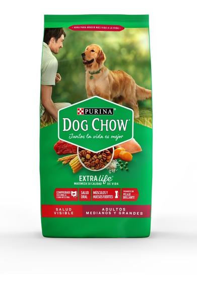Purina® Dog Chow® Adultos Medianos Y Grandes 8kg + Regalos