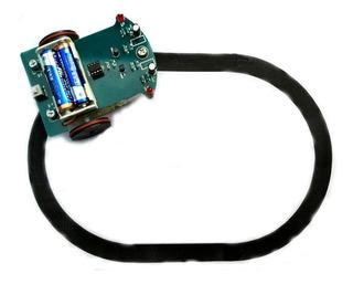 Kit Robô Seguidor De Linha D2-1 Kit Robótica Motor Redução