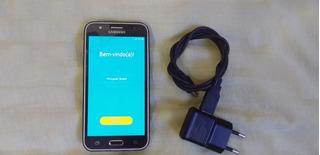 Samsung J500m Preto Semi Novo Favor Ler Todo O Anuncio