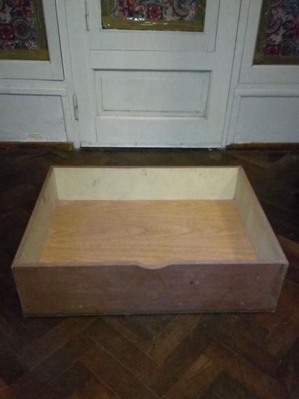 Caja De Madera Organizadora Bajo Cama Con Rueditas