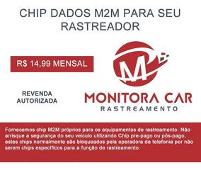 Chip M2m Para Rastreador Veicular P. Mensal Frete Gratis