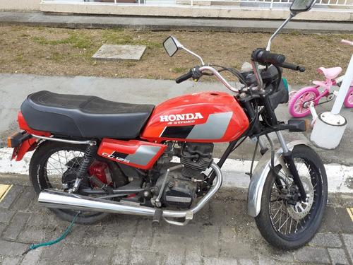 Imagem 1 de 1 de Honda Cg 125/ Ano 1987