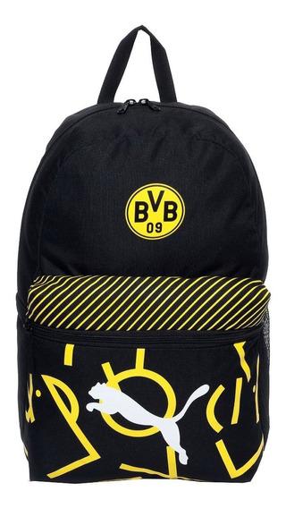 Mochila Puma Borussia Dortmund Dna Negro/ Amarillo 076794 02