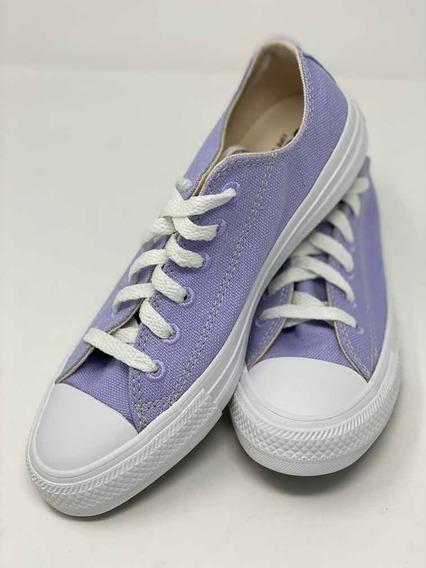 Converse 166744c Ctas Ox Moonstone Violet/natural/white
