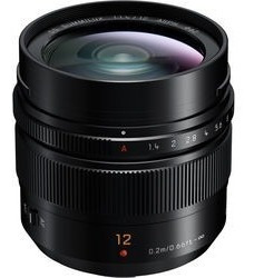Lente Panasonic Leica Dg Summilux 12mm F/1.4 Asph. Lences