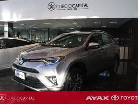 Toyota Rav4 Hibrida 2018 Gris Plata 0km