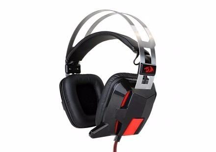 Headset Redragon Gamer Lagopasmutus, H201 Conexão P2