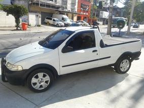 Fiat Strada 1.3 Fire 2p Completo Com Kit Gás Financio Leia!