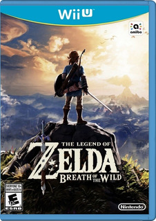 Juego Original Legend Of Zelda Breath Of The Wild Wiiu (25v)