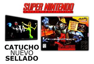 Juego Killer Instinct Super Nintendo Snes