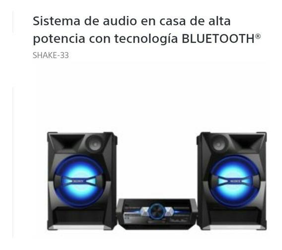 Equipo De Sonido Sony Shake 33