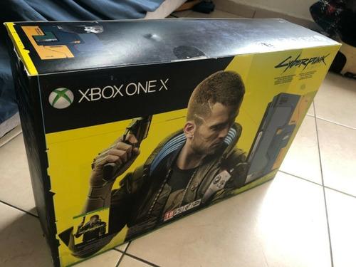 Xbox One X Cyberpunk 2077 1tb Limited Edition Console