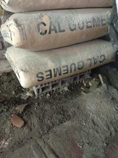 2 (dos) Bolsas De Cal Hidraulica C/u $70