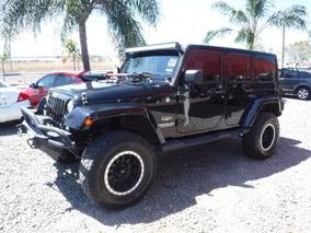 Jeep Wrangler Unlimited Sahara 2014 4x4 At Equipado!!