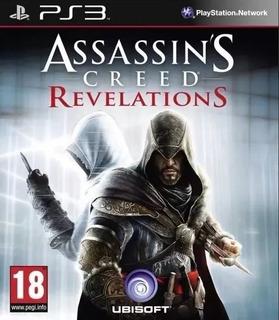 Assassins Creed Revelations Ps3 Original- Play Perú