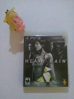 Heavy Rain Ps3 Garantizado