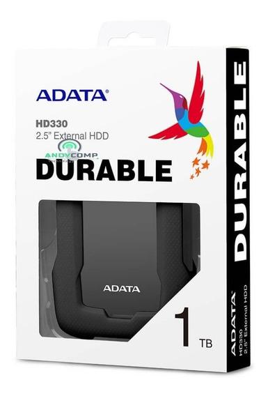 Disco Duro Externo Antigolpes Y Agua 1tb Adata Usb3.2 Hd330