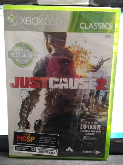 Just Cause 2 Para Xbox One E Xbox 360 Europeu. Mídia Física.