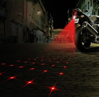 Láser De Estrella Anti -colisión Motos Y Carros Luz D Niebla