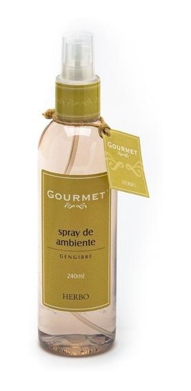 Spray De Ambiente Gourmet Gengibre 240ml Herbo