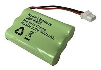 Bateria Mbp483 3.6v Aaa 900mah Ni-mh P/ Baba Eletrônica